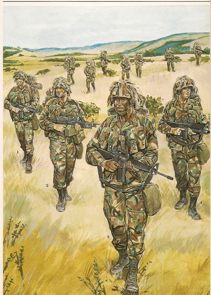 Light Infantry Fire Team , 7th Infantry División (Light ), Ft. Ord. California