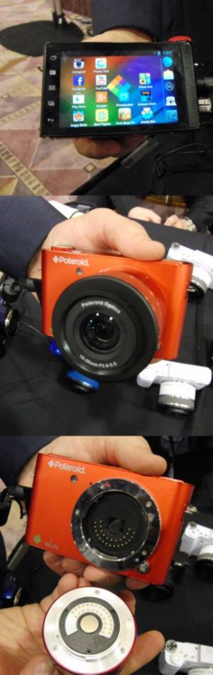 This clever Android camera has a classic old name (Polaroid) and a