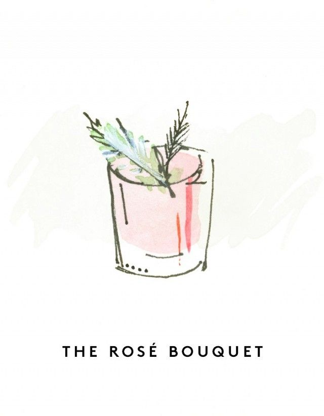 Serves 1 Ingredients 3 oz. rosé wine 1 1/2 oz. gin 3/4 oz. Lillet Blanc 3 oz. ruby-red grapefruit juice 1 rosemary sprig Directions Fill lowball glass 3/4 full of ice, and build the...
