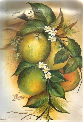 Magia da Pintura Bia Moreira - Marleni - Álbuns da web do Picasa