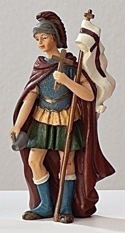 St. Florian- patron saint of firefighters.