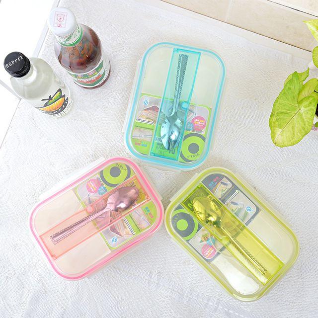 7,39€ - New Microwave Plastic Lunch Box Storage Boxes Food Storage Food Bento Box - WiNet