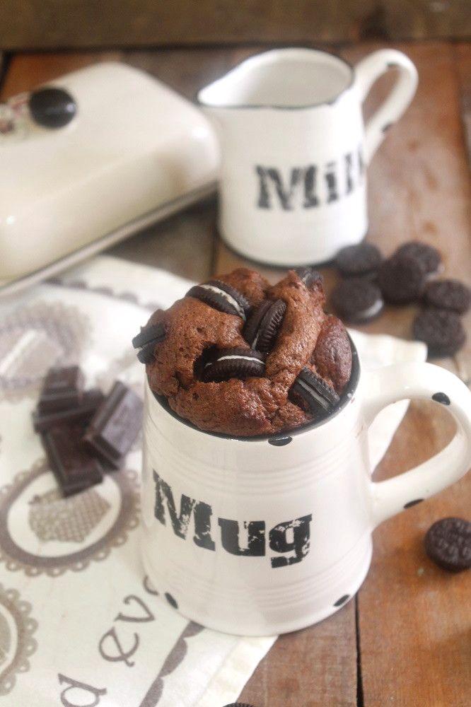 Hoy toca despedirme de vosotros hasta mediados de septiembre y para ello os dejo una receta de mug cake, pues yo aún no había sucumbido...