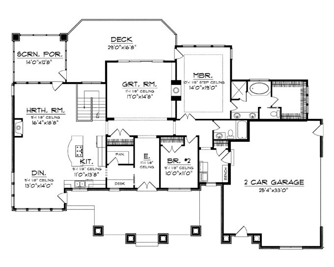 The 25+ best One level house plans ideas on Pinterest   One level ...