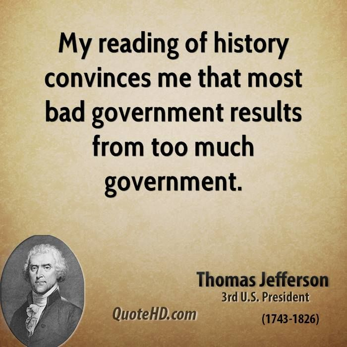 Thomas Jefferson Quotes. Via: http://quotehd.com/Topic/history-quotes/8. Please visit us during your next stay in the Southern Pines, NC area: The #JeffersonInnSouthernPines