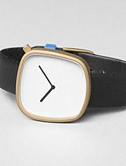 Hombre+Mujer+Reloj+Deportivo+Reloj+de+Vestir+Reloj+de+Moda+Reloj+de+Pulsera+Cuarzo+Punk+Cuero+Auténtico+BandaCosecha+Encanto+Cool+Casual+–+EUR+€+14.40