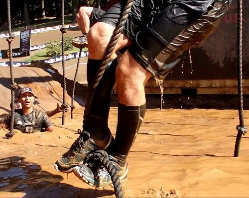 How to climb a rope at Spartan Race.