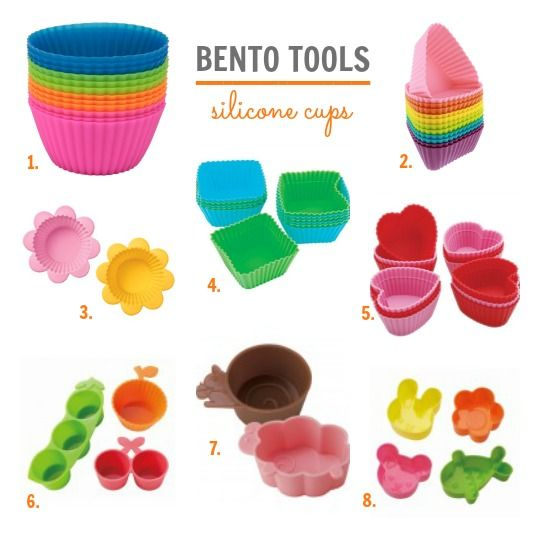 bento tool must haves adorable and functional silicone cups back to school lunch ideas and. Black Bedroom Furniture Sets. Home Design Ideas
