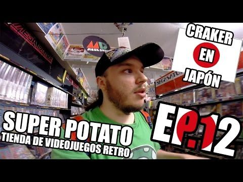 SUPER POTATO Tienda de Videojuegos Retro   Akihabara   Craker en Japon - YouTube