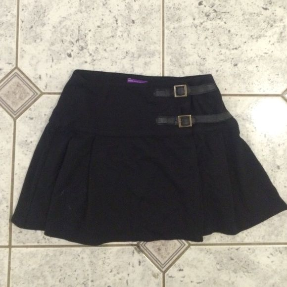 Cute Black Mini Skirt From marks and Spencer's, only worn once, super adorable, just not my size Marks & Spencer Skirts Mini