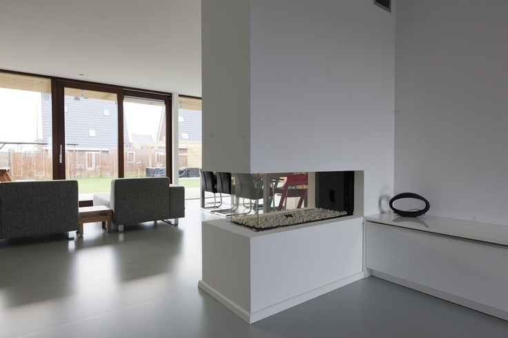 See trough fire place, doorkijkhaard, glass fireplace, glazen haard