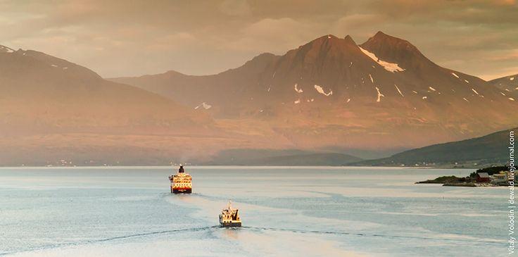 Большая прогулка: Северная Норвегия. Первый почтовый на Север #Hurtigruten #Norway