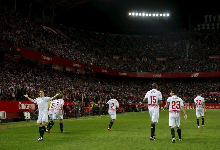 @Sevilla El Sánchez Pizjuán fue el primer escenario donde Sevilla y Celta de Vigo iban a disputar el primer asalto de las semifinales de la Copa del Rey. El Sevilla se presentaba delante de los suyos confiado, el pleno de victorias en la competición, ya son 7 de 7, números que avalan a un equipo que perdió su último partido de Liga en casa precisamente frente al Celta de Vigo, 1x2, el 20 de septiembre #9ine