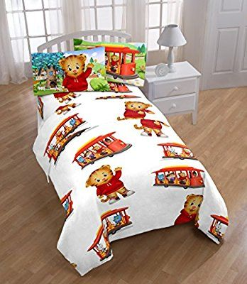 Best Amazon Com Daniel Tiger Bedding Blue Toddler Bed Baby 400 x 300