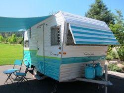 1966 Aristocrat, vintage travel trailer, vintage camper