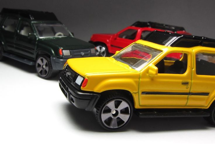 the Lamley Group: The Last Golden Age of Matchbox: 2005/2006 Superfast Nissan Xterra.