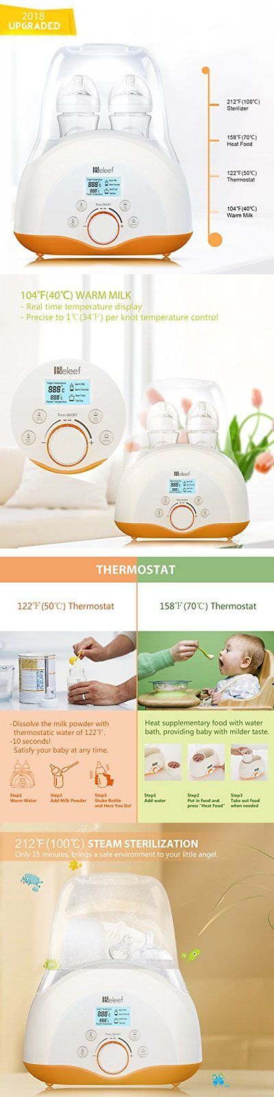 Bottle Sterilizers 106789: Baby Bottle Warmer, Bottle Sterilizer And Smart Thermostat 4-In-1 With Fast... -> BUY IT NOW ONLY: $74.69 on eBay!