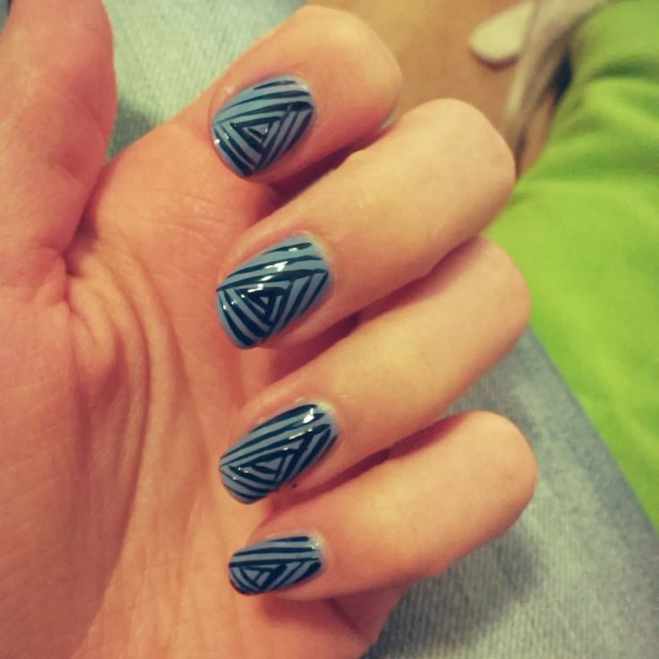Triangle stripes (self made)