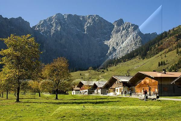 Eng, Hinterriß, Vomp, Tirol, Großer Ahornboden, Karwendelgebirge, Österreich,    Foto: nordpool / imagebroker / Bele Olmez  P e t e r s b u r g, D-24966 S o e r u p - B a r g,  Tel. +49 (0) 4635-292626, Fax. +49 (0) 4635-295411,  EMail: info@nordpool-media.com, www.nordpool-media.com