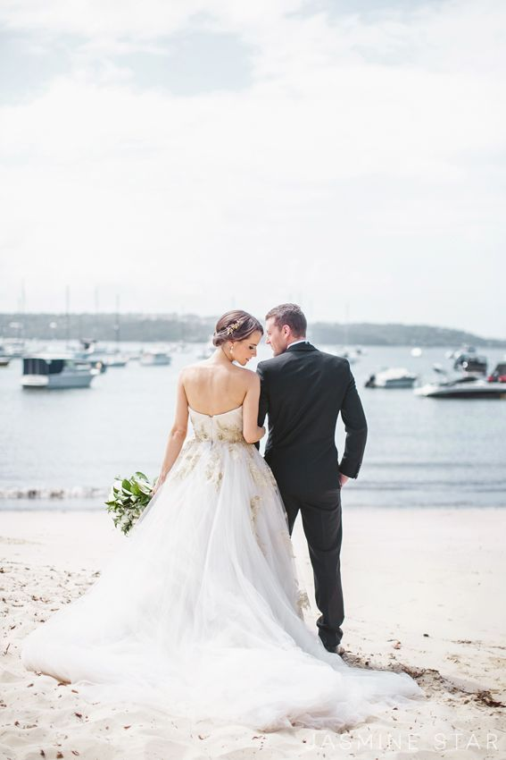 Wedding dress idea; Featured Photographer: Jasmine Star
