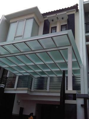 Duta Indah Glass and Alumunium Specialist: DUTA INDAH: Tempered Glass Canopy