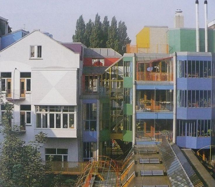 Aldo Van Eyck / Hubertus - Housing for Single Parent Families, Amsterdam, 1976-80