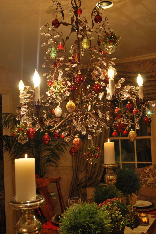 dina manzo 39 s beautiful christmas chandelier i love the