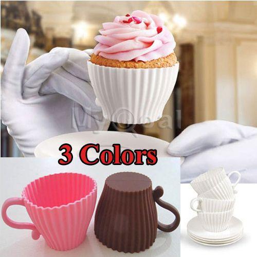 Goedkope 4 stuks siliconen cup cake liners keuken bakken cup muffin cupcake gevallen nieuwe 2015 kleur willekeurig te sturen, koop Kwaliteit   rechtstreeks van Leveranciers van China:    Functies:  Gloednieuw en hoge kwaliteit.Dit artikel is een set van cupcake cups. Ze kunnen ba
