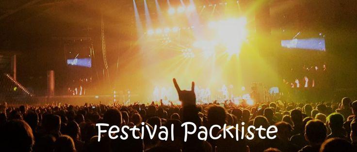 Was brauche ich auf einem Festival? Eine übersichtliche Packliste mit praktischer Ausrüstung, Campingzubehör, Outdoor-Artikeln und Gadgets findest du hier: