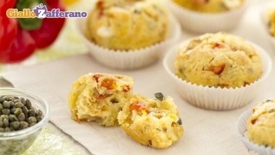 Ricetta Muffin ai peperoni - Le Ricette di GialloZafferano.it