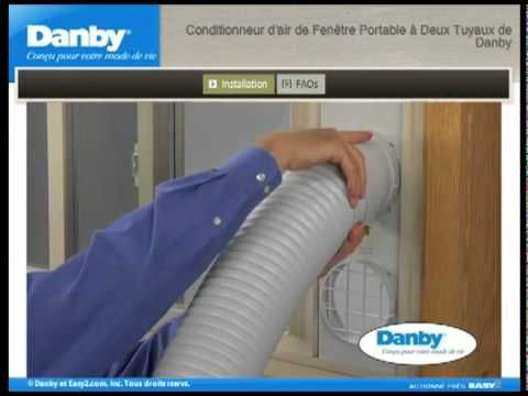 ▶ Danby Portable Air Conditioner Installation Guide - YouTube