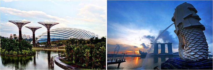Garden by the bay-Singapur