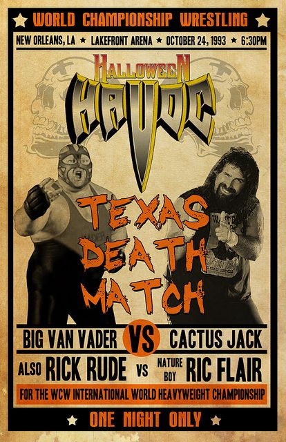 Halloween Havoc | Custom Halloween Havoc Vintage Poster | Flickr - Photo Sharing!