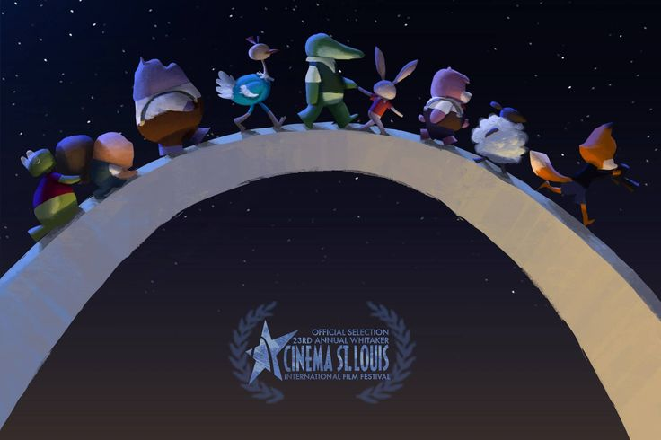 The animal crew of The Dam Keeper is heading to the 23rd Annual Whitaker St. Louis International Film Festival! Our film will be screening Sun, Nov 16 at 12:00pm at the Plaza Frontenac Cinema for free!!!  Go support your local film festival if you are in St. Louis!!!  This gem of an announcement was painted by Shelly Wan. http://shellywan.blogspot.com/