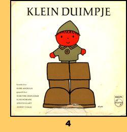 Klein Duimpje door Dick Bruna
