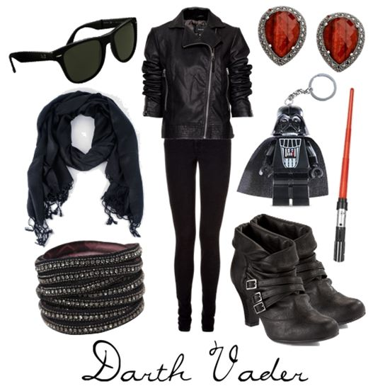Star Wars Inspired Looks: Darth Vader