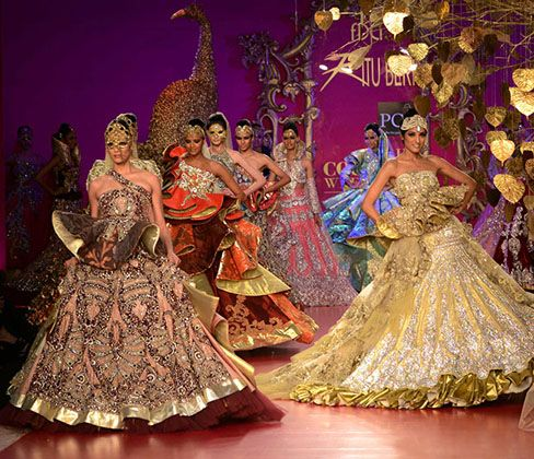 New Indian bridal designer collection! they seem paintings