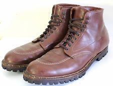 Alden 405 Indy Boot Brown Leather Vibram Size 13 D $563