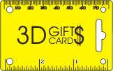 3D GIFTS CARDS - logo