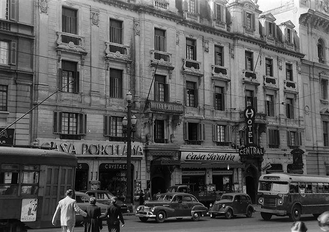Avenida São João e hotéis Britânnia e Central - São Paulo/SP - Brazil