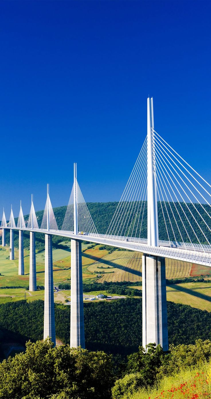 Millau Viaduct, France | TOP 10 Most Amazing Bridges Around the World