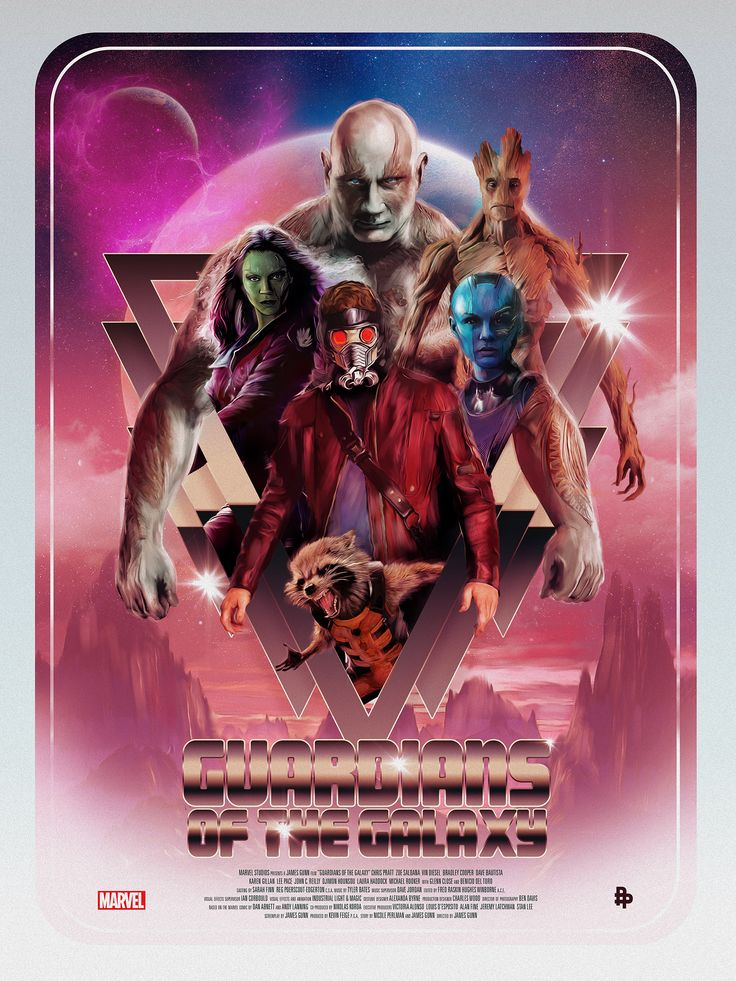 Guardians of the Galaxy by Rich Davies
