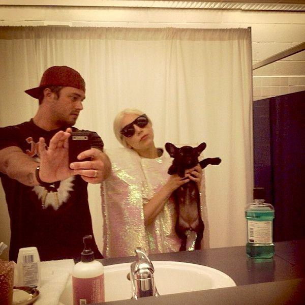 Lady Gaga, Taylor Kinney and French Bulldog Puppy Asia Take Gypsy ...