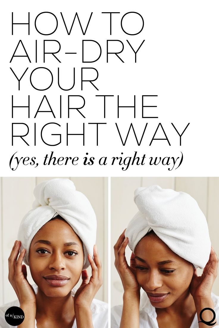 According to Britta Cox, founder and co-CEO of Aquis, even if you swore off blowouts years ago, you've probably been towel-drying your hair wrong your entire life. Here's her guide to the best (and worst) way to handle sopping wet strands - and why that matters at all.