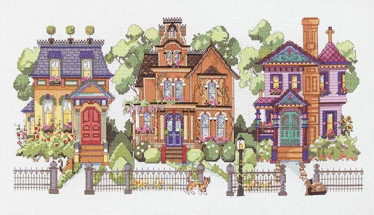 Best 20 victorian cross stitch ideas on pinterest no for Victorian kit homes