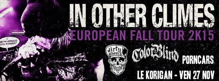 PornCars + ColorBlind + Dirty Wheels + In Other Climes en concert au Korigan à Aix en Provence : Le live-report