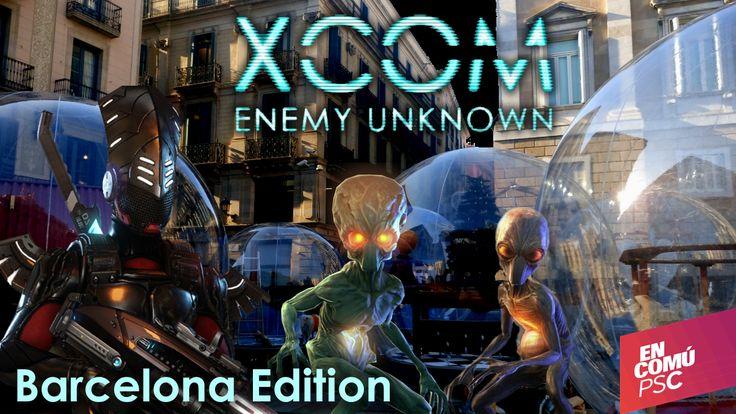 Me encanta la promo de la nueva versión de X-COM que hacen en Barcelona ahora mismo