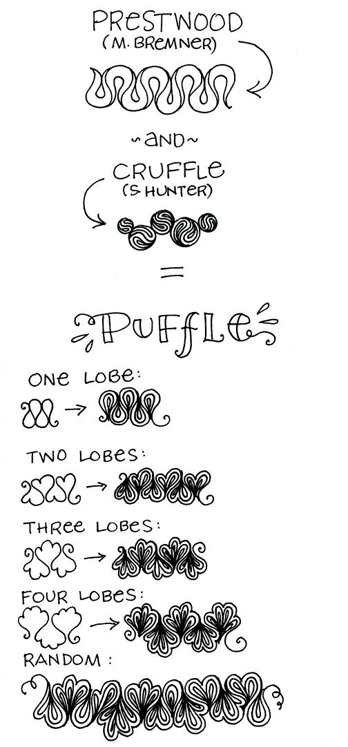• ❃ • ❋ • ❁ • tanglebucket • ✿ • ✽ • ❀ •: Tangle Remix, Vol. I + PUFFLE