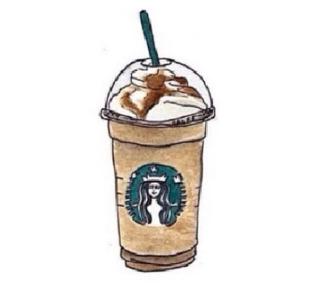 Starbucks Painting W Watercolors