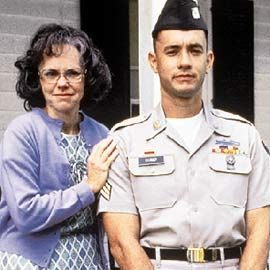 Sally Fields and Tom Hanks in   Forest Gump